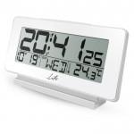 Ψηφιακό Ρολόι / Ξυπνητήρι με Θερμόμετρο Εσωτερικού Χώρου, Ημερομηνία και Οθόνη LCD