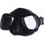 Επαγγελματική Μάσκα Σιλικόνης Θαλάσσης Μαύρη