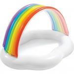 Φουσκωτή Παιδική Πισίνα Ουράνιο Τόξο - Rainbow Cloud Baby Pool