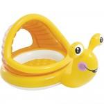Φουσκωτή Παιδική Πισίνα Σαλιγκάρι - Lazy Snail Shade Baby Pool