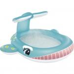 Παιδική Φουσκωτή Πισίνα Φάλαινα με Σπρέι Νερού - Whale Spray Pool
