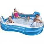 Οικογενειακή Φουσκωτή Πισίνα με Προσκέφαλα - Swim Pool