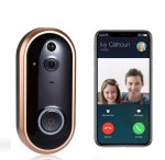 Wifi Ασύρματη Κάμερα, Κουδούνι Πόρτας - Θυροτηλεόραση IP με Ανιχνευτή Κίνησης - Video Doorbell Two-way Audio - Σύνδεση με Κινητό
