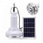 Επαναφορτιζόμενη Ισχυρή Ηλιακή Λάμπα - Φωτιστικό Νυχτός με Γάντζο & Ηλιακό Πάνελ - Solar Led Light
