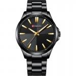 Ανδρικό Ρολόι Curren Black - Men Waterproof Quartz Watch