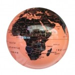 Μαγική Περιστρεφόμενη Υδρόγειος Πορτοκαλί - Μαύρο