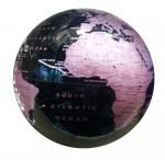 Μαγική Περιστρεφόμενη Υδρόγειος Μαύρο - Ροζ