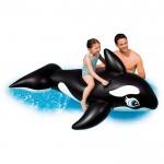 Φουσκωτό Θαλάσσης Φάλαινα 193x119cm - Whale Inflatable Ride-On