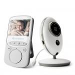Ασύρματο Σύστημα Παρακολούθησης για Μωρά με Οθόνη 2.4″ LCD & Ανίχνευση Θερμοκρασίας, Μικρόφωνο, Νυχτερινή Όραση
