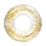 Φουσκωτό Σωσίβιο Χρυσό με Glitter 100cm - Inflatable Float