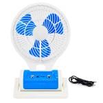 Μίνι Φορητός Ανεμιστήρας Φωτιστικό LED Γραφείου - Portable Mini Fan Led Light