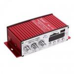 Ραδιοενισχυτής Kinter Mini Ψηφιακή Συσκευή Αναπαραγωγής Ήχου με 2 Κανάλια, USB, MP3, FM & Τηλεχειριστήριο - Digital Audio Player 20W
