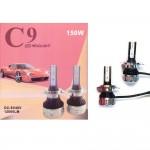 Φώτα Αυτοκινήτου CREE LED Kit H11 C9 12000LM - 6000Κ - 150W - CAN BUS