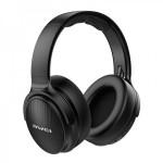 Πτυσσόμενα Ακουστικά Bluetooth Stereo με Αποσπώμενο Καλώδιο AUX Μαύρα