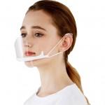 Διάφανη Πλαστική Προστατευτική Μάσκα Προσώπου Στόματος - Πιγουνιού Πολλαπλών Χρήσεων - PLASTIC MULTI-PURPOSE FACE MASK