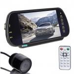Bluetooth Καθρέφτης Αυτοκινήτου Οθόνη - Μόνιτορ 7