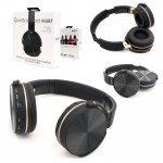 Ασύρματα On-Ear Ακουστικά Bluetooth με Aux, SD/TF, FM Radio & Μικρόφωνο - Foldable Wireless Super Bass Headset