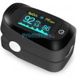 Παλμικό Οξύμετρο Δακτύλου Ακριβείας με Καρδιογράφημα, Μεγάλη Οθόνη OLED Fingertip Pulse Oximeter, SpO2 / Heart Rate Sensor Health