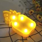 Φωτιστικό Μπαταρίας Μίνι Ανανάς 5 LED