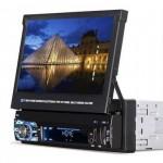 "Multimedia Αυτοκινήτου με Αναδιπλούμενη Οθόνη Αφής 7"" HD με GPS, WI-FI, Πλαυστορε, USB, 1 DIN, MP3, MP5, Ραδιόφωνο FM, Bluetooth & Mirrorlinκ"