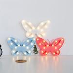 Φωτιστικό Μπαταρίας Πεταλούδα 14 LED