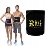 Unisex Ζώνη Αδυνατίσματος για Κοιλιακούς One Size - Sweet Sweat Waist Trimmer Belt