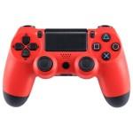 Ασύρματο Χειριστήριο Doubleshock για PS4 Κόκκινο