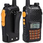 Πομποδέκτης VHF UHF 5W Pofung Φορητός Dual Band Ασύρματος με Μεγάλη Μπαταρία, 128 Κανάλια & Ακουστικό