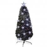 Χριστουγεννιάτικο Δέντρο Πράσινο με Οπτικές Ίνες και LED 120cm - Christmas Tree