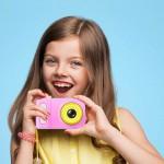 Παιδική Φωτογραφική Μηχανή Βιντεοκάμερα - Summer Vacation Baby Camera Ροζ-Κίτρινο