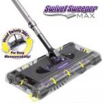 Επαναφορτιζόμενη Σκούπα 360 με Αποσπώμενες Βούρτσες - Swivel Sweeper Max