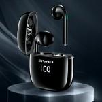 Αδιάβροχα Ασύρματα Ακουστικά Bluetooth με Smart Touch Αφής - AWEI Sports Earbunds Charging Case