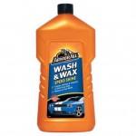 Σαμπουάν και Κερί Γυαλίσματος Αυτοκινήτου 2 σε 1 - Wash & Wax 1L