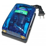 Αεραντλία / Οξυγονωτής Ενυδρείου με δύο Εξόδους Αέρα 2*4lt/Min - Aquarium Air Pump 5W
