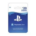 Προπληρωμένη Κάρτα Sony Playstation Network Live Card 20 Euros για PS4, PS3, PS Vita & PSP