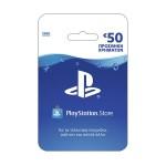 Προπληρωμένη Κάρτα Sony Playstation Network Live Card 50 Euros για PS4, PS3, PS Vita & PSP