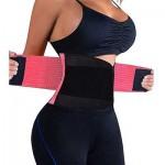 Ελαστική Ζώνη Μέσης Shapers Power Belt για Σύσφιξη & Τοπικό Αδυνάτισμα - Body Shaper Belly Trainer Ροζ