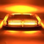 Μαγνητικός Πορτοκαλί Φάρος 6 LED - Αδιάβροχο Φως Strobe Light Bar 12V-24V