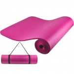 Παχύ - Μαλακό Στρώμα Ασκήσεων Γυμναστικής 182x62x1cm - Yoga Mat Ροζ