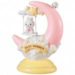 Επιτραπέζιο Παιδικό Φωτιστικό Αφής - Πορτατίφ - Φωτάκι Νυκτός Best Wishes Ροζ LED