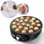 Pop Cake Maker 22 pcs - Μπουκίτσες Κέικ Ποπ - Αντικολλητική Συσκευή Παρασκευής Ντόνατ 1000W