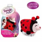Παιδική Βούρτσα - Λούτρινο Ζωάκι Πασχαλίτσα - Kids Hair Brush Tangle Pets