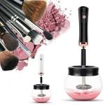 Ηλεκτρική Συσκευή Καθαρισμού Πινέλων Μακιγιάζ - Καθαριστικό Μέικαπ - Electric Makeup Brush Cleaner Άσπρο