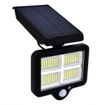 Ηλιακό Φωτιστικό 160 LED COB με Ανιχνευτή Κίνησης