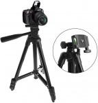 Επαγγελματικό Πτυσσόμενο Τρίποδο για Κινητό ή Φωτογραφική Μηχανή με Αλφάδι Ευθυγράμμισης 35cm-120cm - Andowl Tripod