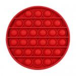 Αγχολυτικό Παιχνίδι Anti-Stress Ανακούφισης - Fidget Bubble Pop Κύκλος Κόκκινο