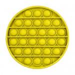 Αγχολυτικό Παιχνίδι Anti-Stress Ανακούφισης - Fidget Bubble Pop Κύκλος Κίτρινο