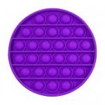 Poppy Αγχολυτικό Παιχνίδι Anti-Stress Ανακούφισης - Fidget Bubble Pop Κύκλος Μωβ