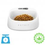 Αδιάβροχο Έξυπνο Αντιβακτηριδιακό Πιατάκι Τροφής Κατοικιδίων με Ψηφιακή Ζυγαριά 2 σε 1 Petkit 450ml - Λευκό