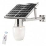 Αδιάβροχο Ηλιακό Σύστημα Φωτισμού 20LED Αλουμινίου 10W IP65 JD-9908 – Ασημί
